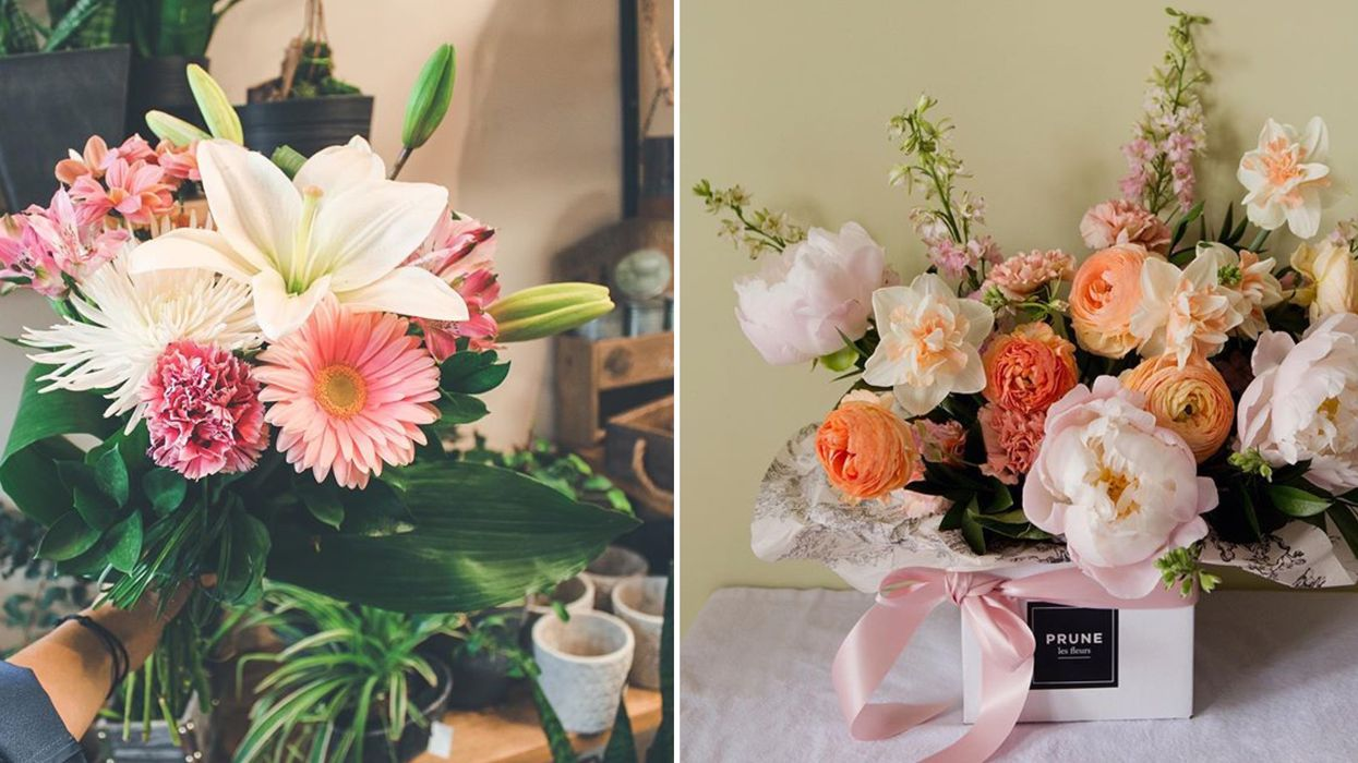 7 fleuristes de Québec qui font la livraison à temps pour la Fête des mères