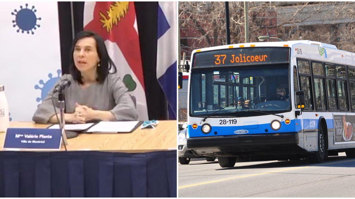 COVID-19 à Montréal : des bus serviront de cliniques de dépistage mobiles