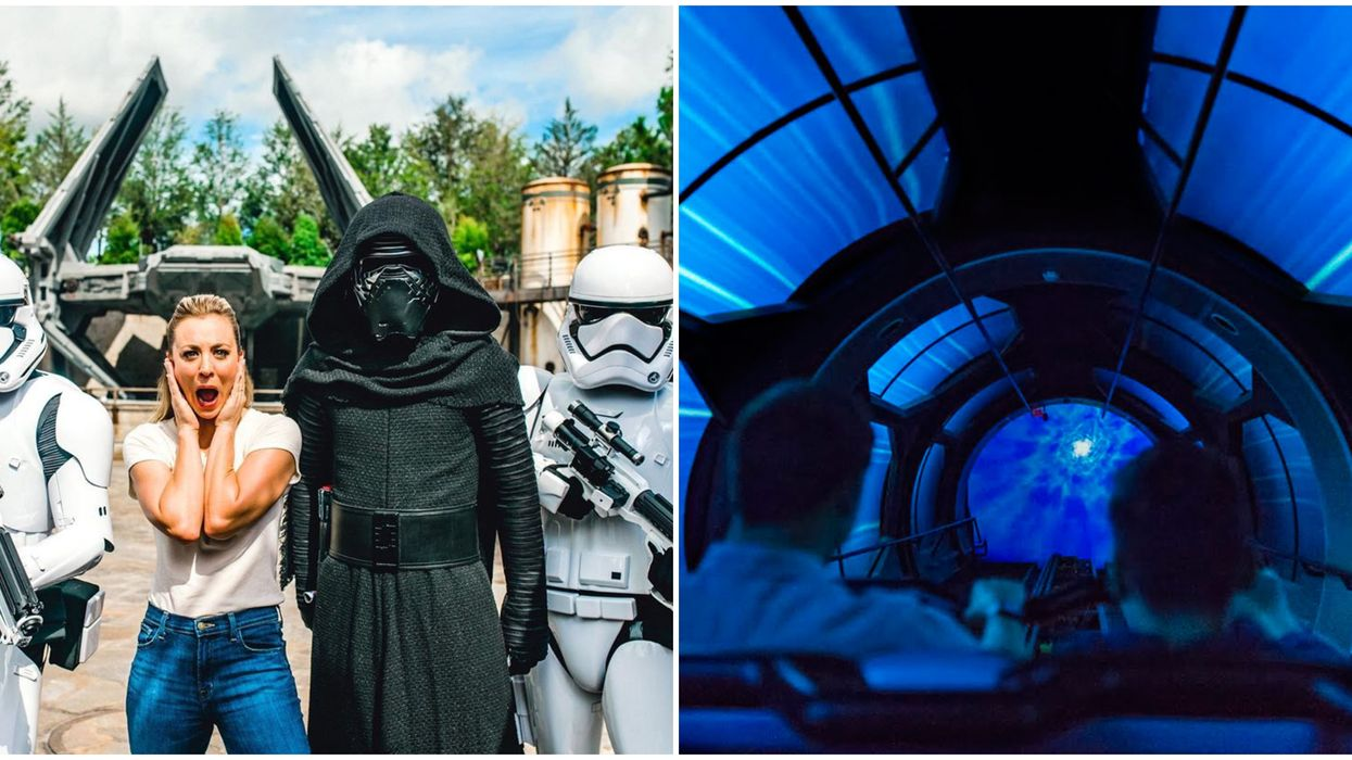 New Disneyland Virtual Rides Includes Rise Of The Resistance (VIDEO)