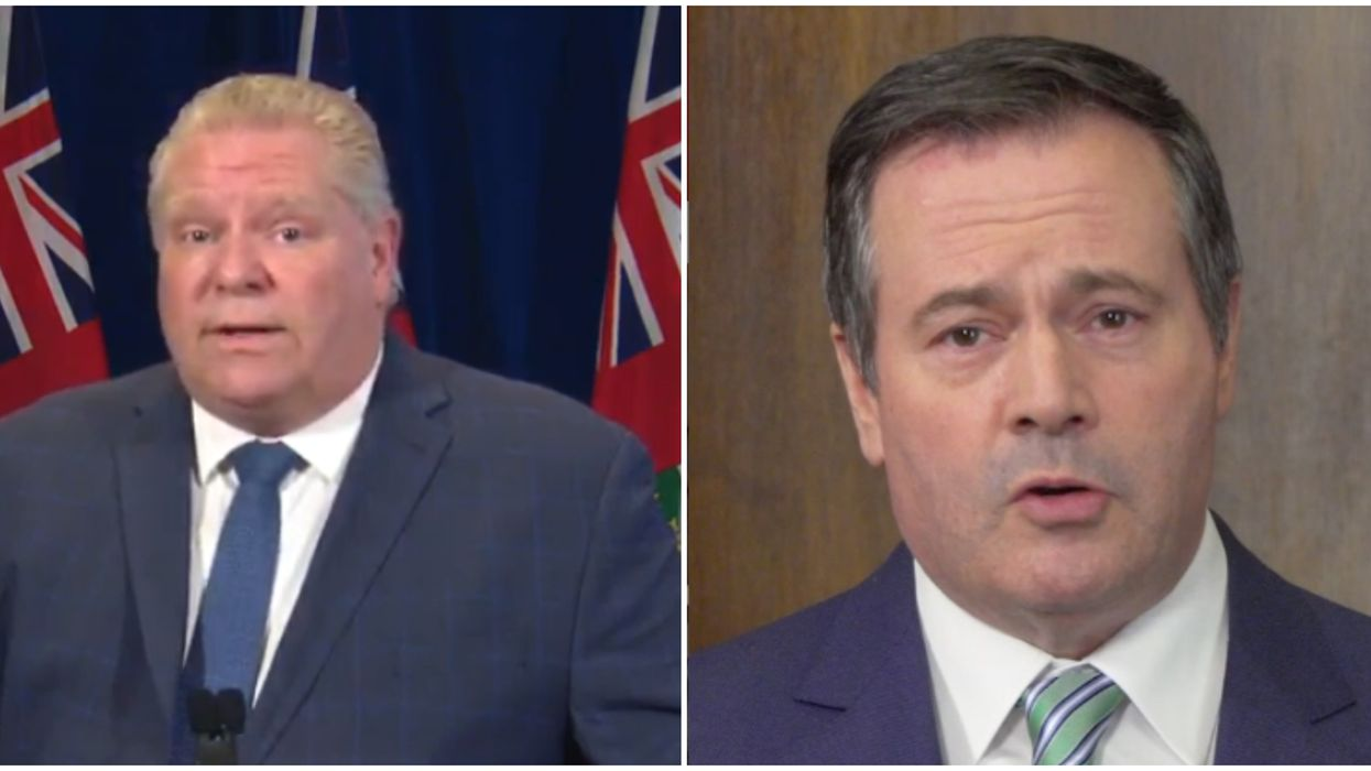 COVID-19 In Ontario Has Shown Province It Needs To Be More Like Alberta, Says Ford