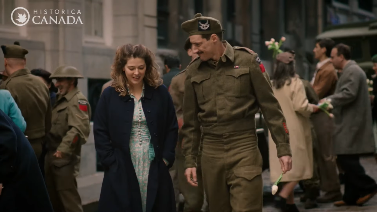 Canada's Heritage Minutes New Installment Has A Sweet Love Story From WWII