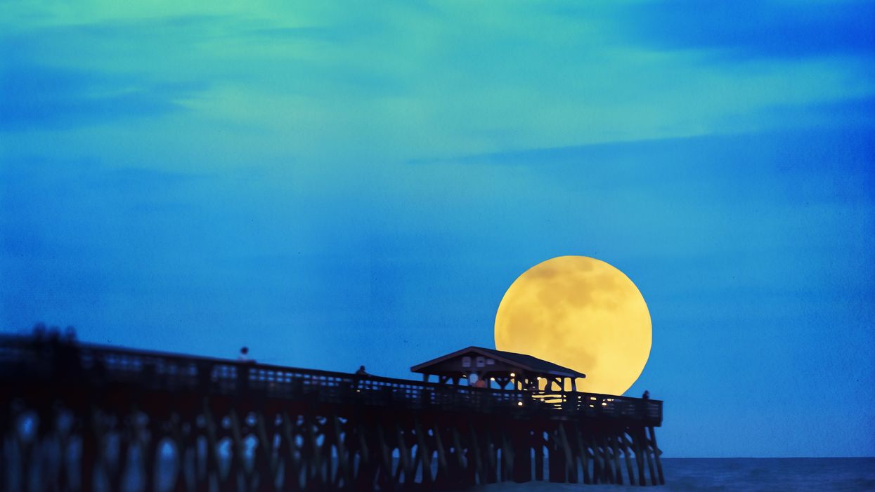 Full Moon Known As The Flower Moon Will Be Last Glowing Supermoon Of 2020