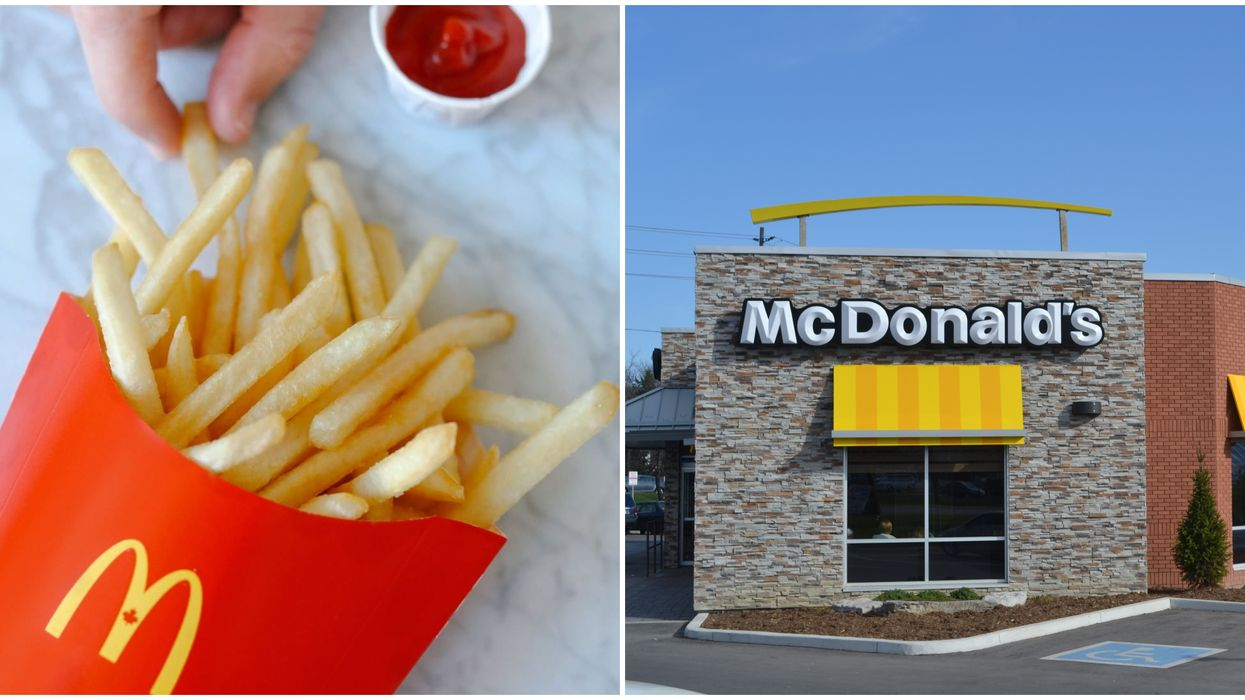 McDonald's Canada Fries For Good Initiative Donates To Canadian Relief Funds