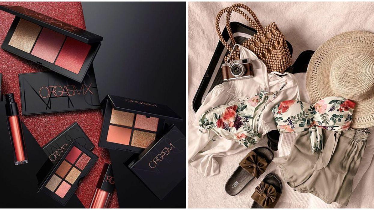 Maquillage et maillot de bain