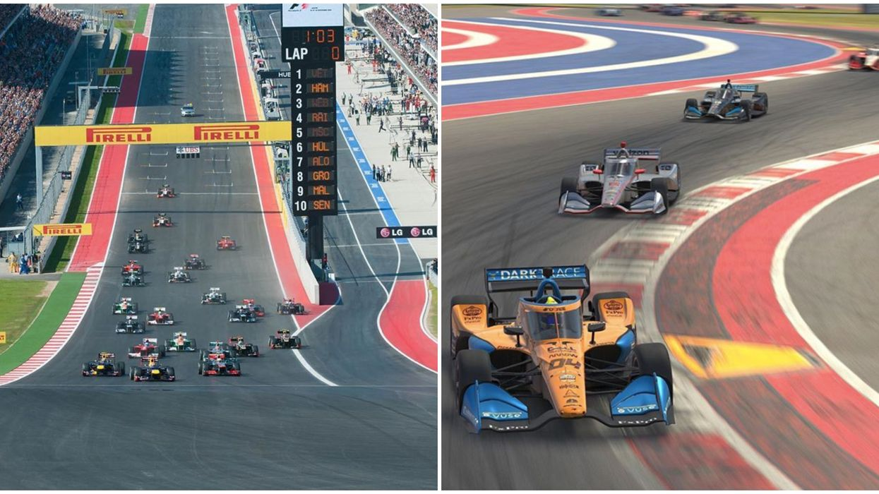 You Can Drive Your Car On Austin's Circuit Of The Americas This Month