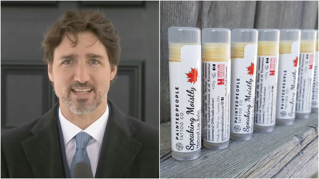 'Speaking Moistly' Lip Balm Is For Sale In Canada & It Will Help Keep Your Lips ... Moist