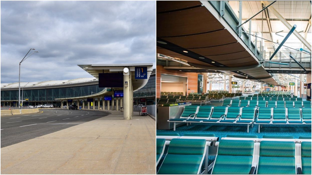 Canada's Major Airports Are Eerily Deserted & Almost Unrecognizable (PHOTOS)