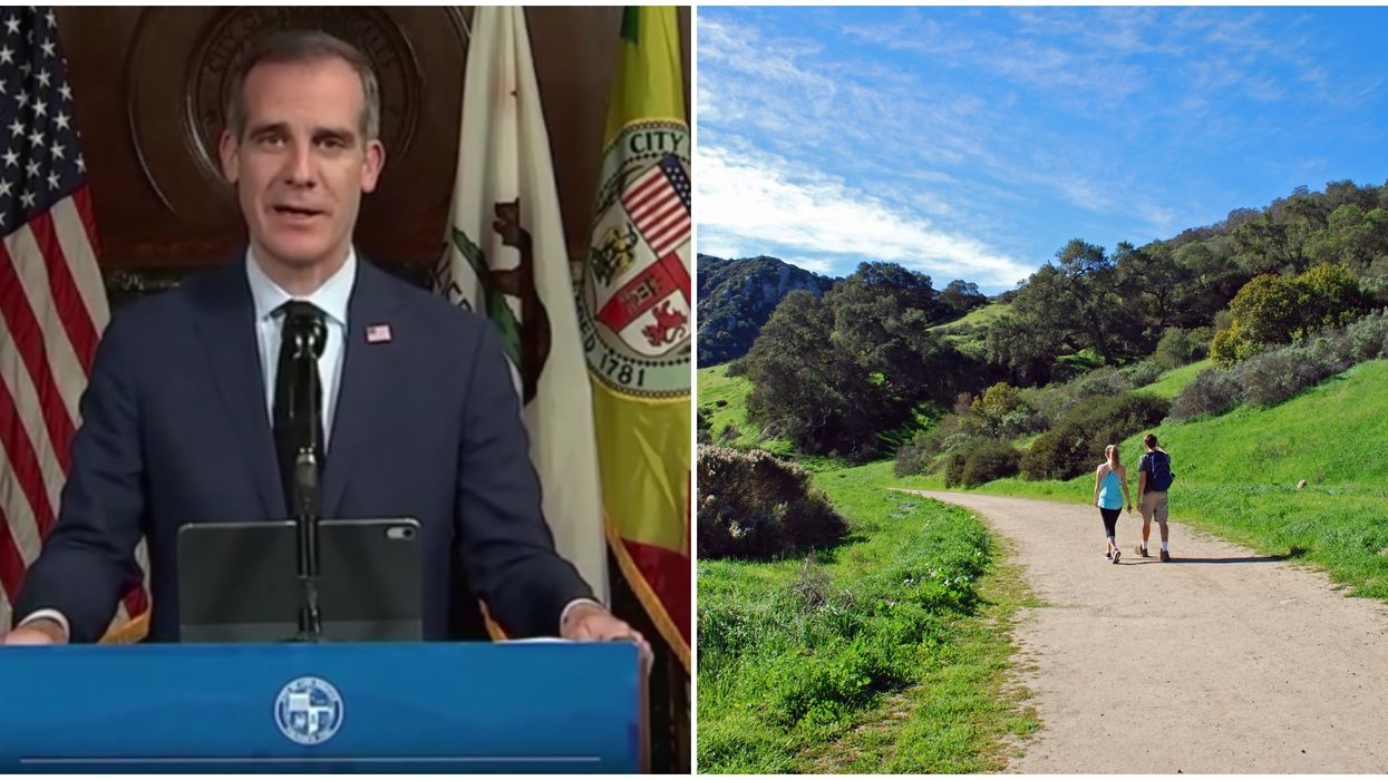 California Reopening Plan Means You Can Use Trails & Golf Courses In LA Soon