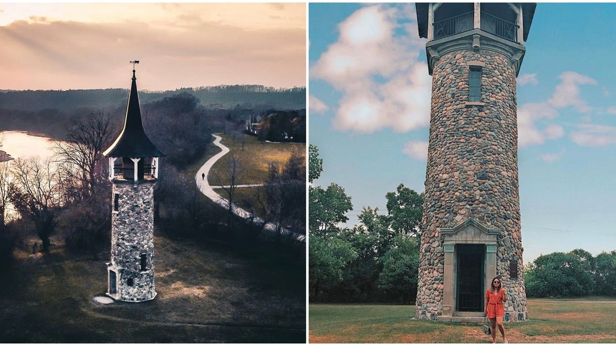 Ontario's Pioneers Memorial Tower Will Give You Major Rapunzel Vibes
