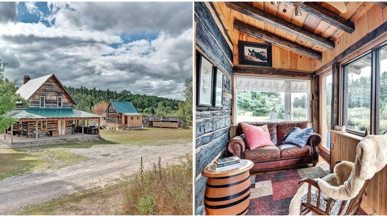 Home For Sale In Ontario Comes On It's Own Nature Retreat For $650K