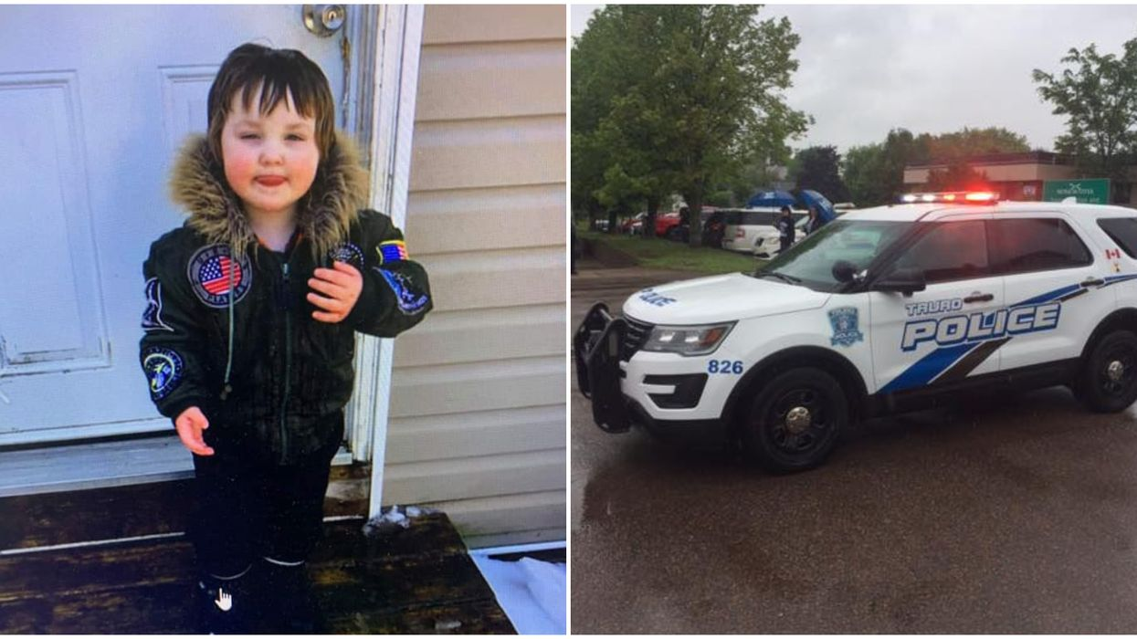 Police Are Looking For A Missing 3-Year-Old Nova Scotia Boy & They've Only Found His Boots