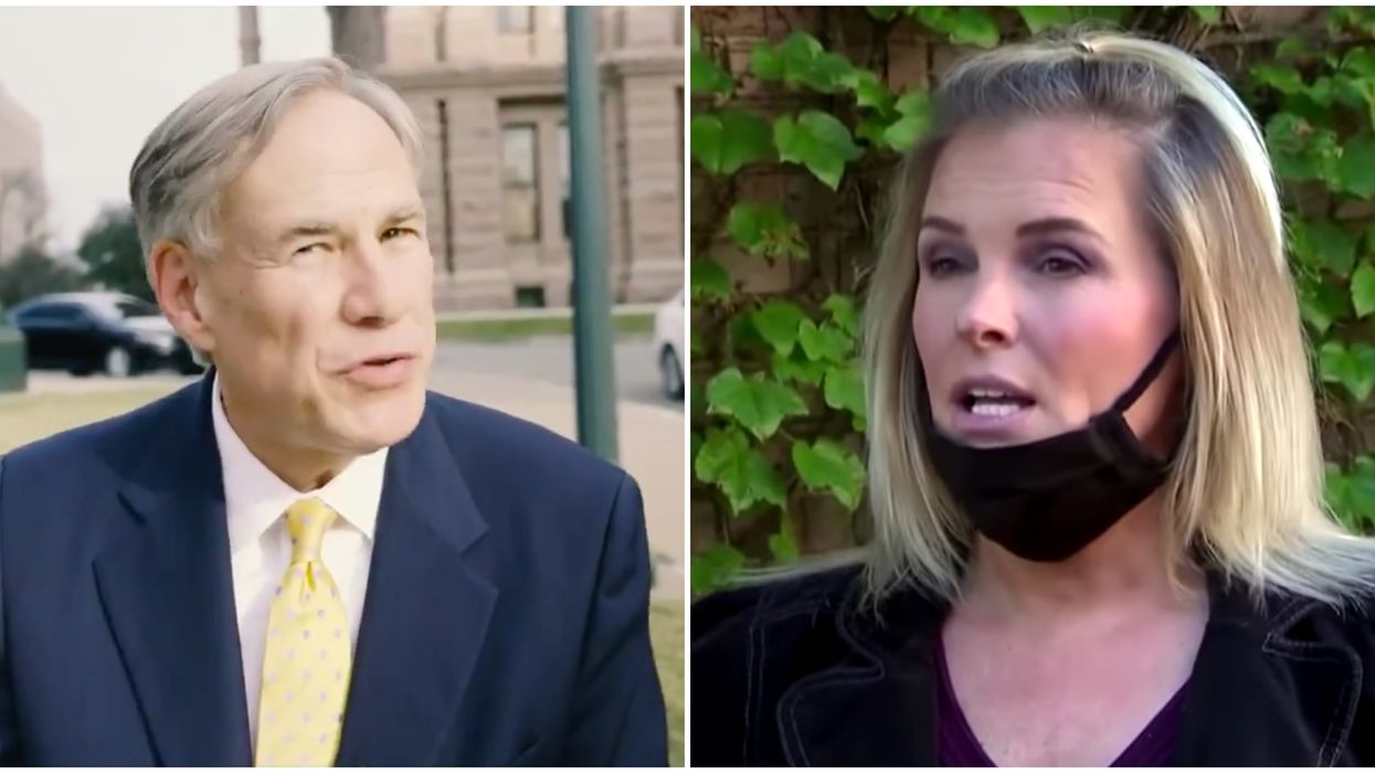 Dallas Salon Owner Shelley Luther Received Support From Greg Abbott