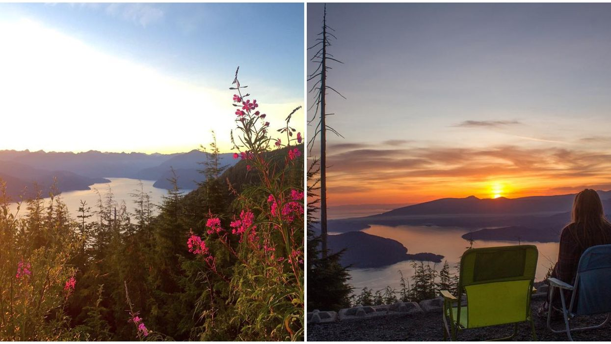 Vancouver's Best Views Of The Coast Are At The Top Of This Short 2 km Hike