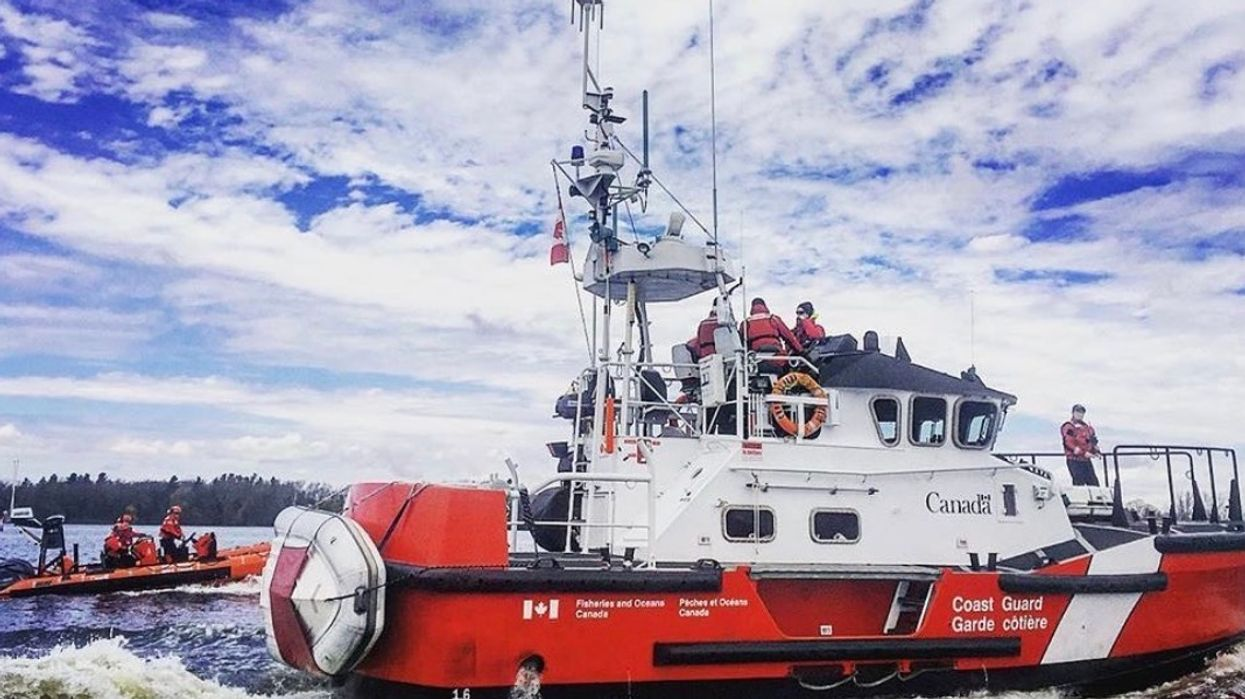 Canadian Coast Guard Reminds People They Can Still Get COVID-19 On A Boat