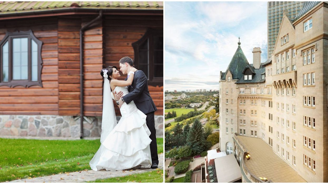 Alberta Weddings Are Going Ahead With Social-Distancing & You Can Have 12 Guests