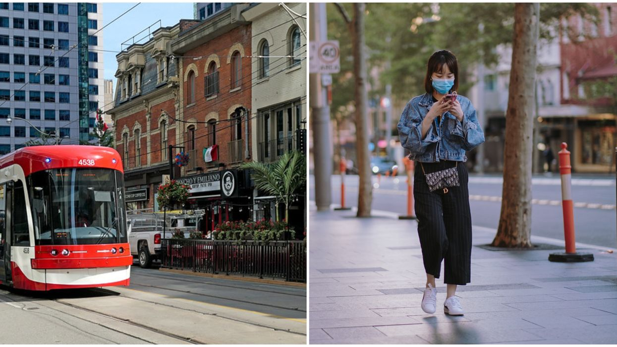 Toronto Strongly Recommends Wearing Face Masks As Retail Stores Start Reopening