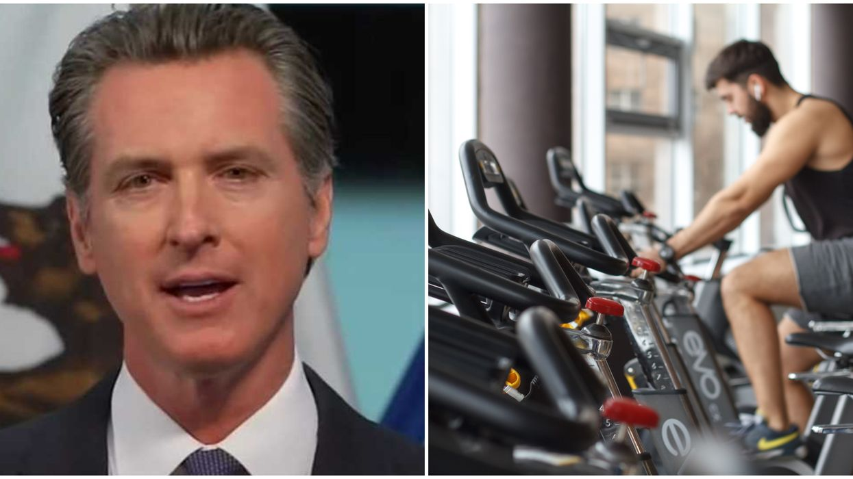 Gavin Newsom Update: California Gyms & Movie Theaters Could Reopen In 1 Month
