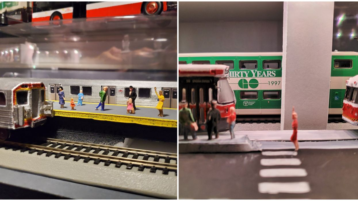 A TTC Diorama Made By A Bored Torontonian Is The Cutest 6ix Transit Has Ever Looked