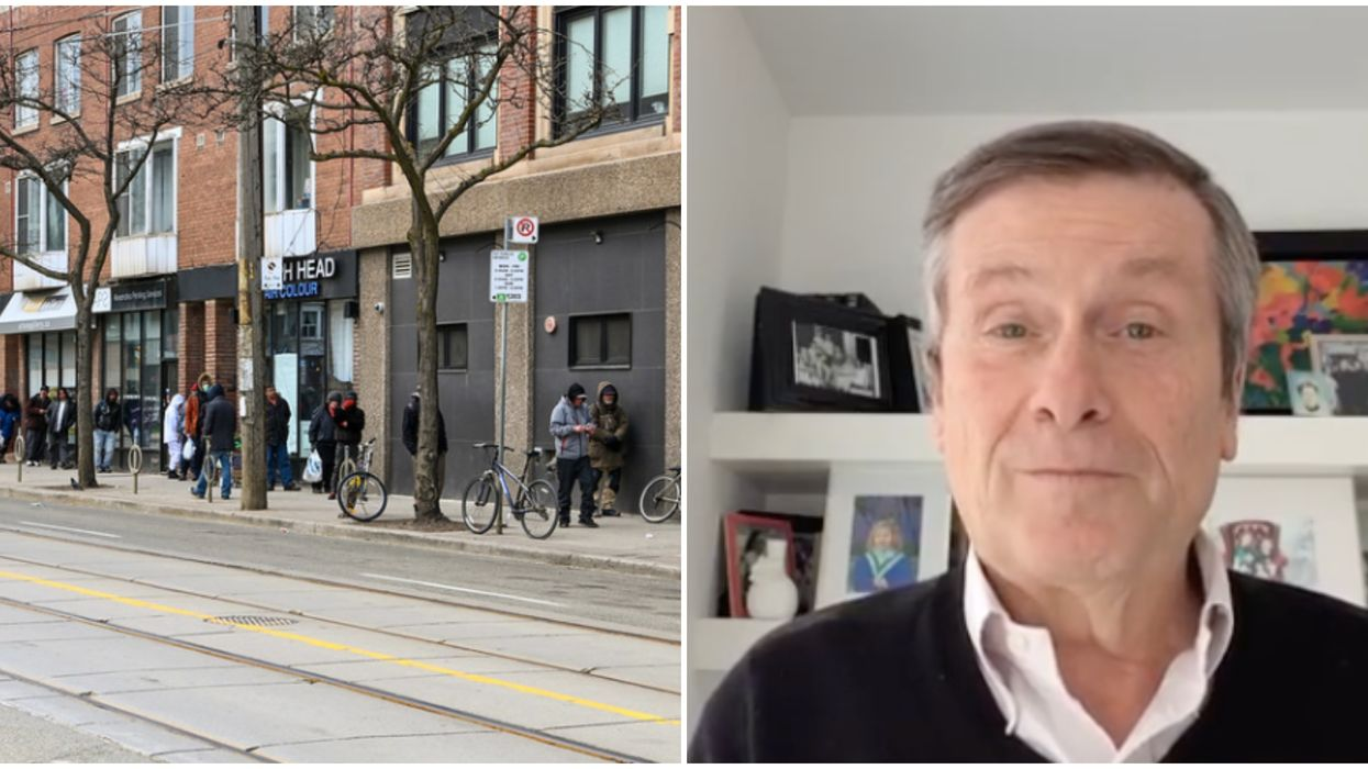 Toronto's Re-Opening Plan Has Tory Warning Shoppers To Only Go Out If They Have To
