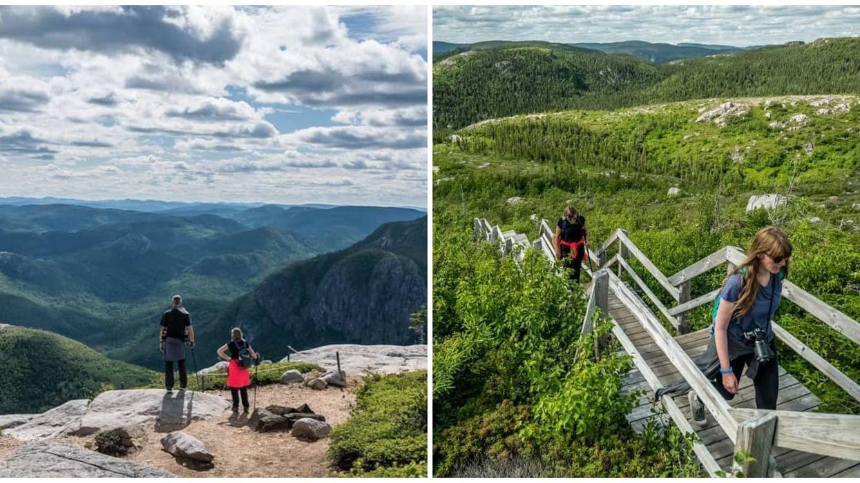 Tu peux faire une escapade en nature avec une vue de rêve à 1 h 30 de Québec