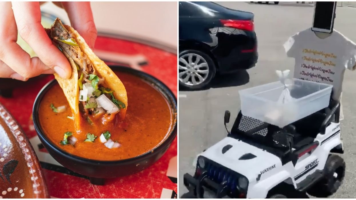 Dallas Restaurants Offering Curbside Pick-Up Include This Taco Spot With A Robot