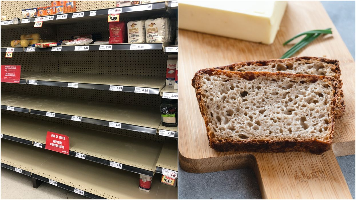 Canadians Have Been Buying So Much Flour, Booze & Coffee Says Statistics Canada