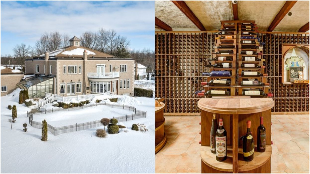 Mansion For Sale In Quebec Is Huge & The Wine Cellar Is Bigger Than Your Condo (PHOTOS)