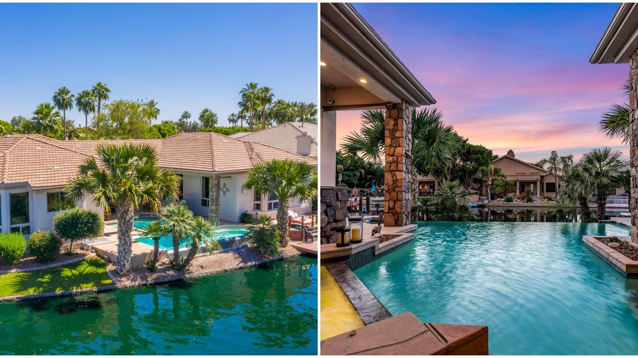 Waterfront Scottsdale Home For Sale Is Like A Tropical Oasis (PHOTOS)