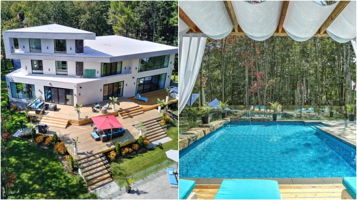 Malibu-Style Mansion For Sale In Quebec Is Perfect For A Stay-At-Home Summer (PHOTOS)