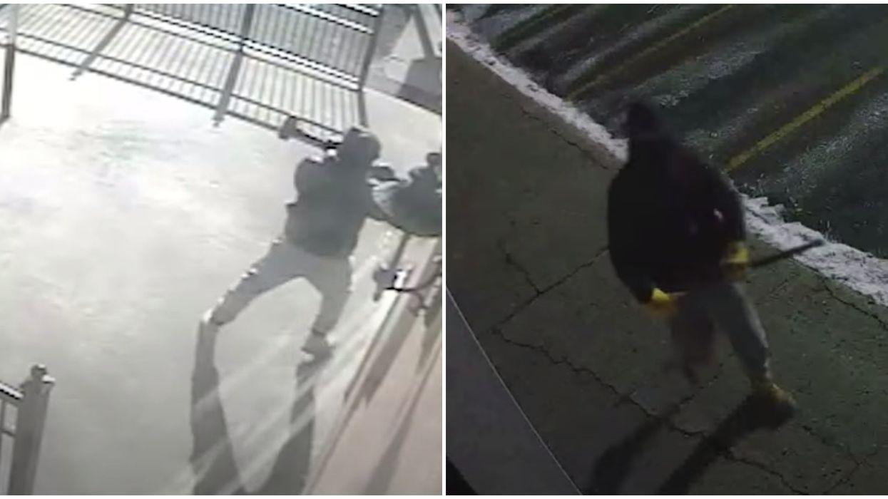 Le SPVM recherche un suspect dans une série de méfaits visant de bars à Montréal