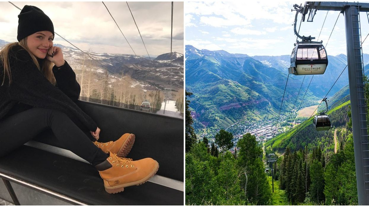 The Gondola In Telluride Is An Awesome Way To Get Around The Town
