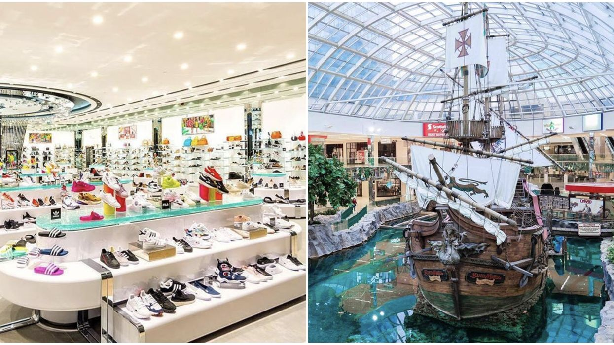 Shop At West Edmonton Mall: Canada's Giggest Mall Is Opening Soon But You Can Shop Today