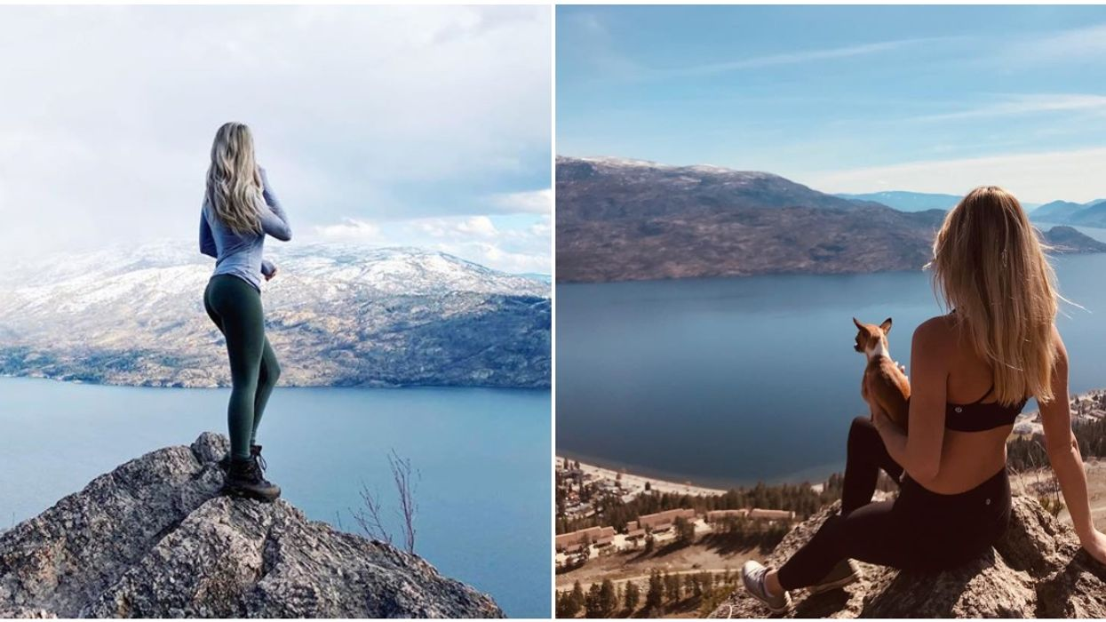 Pincushion Mountain In Peachland Will Give You A Bird's-Eye View Of Wine Country