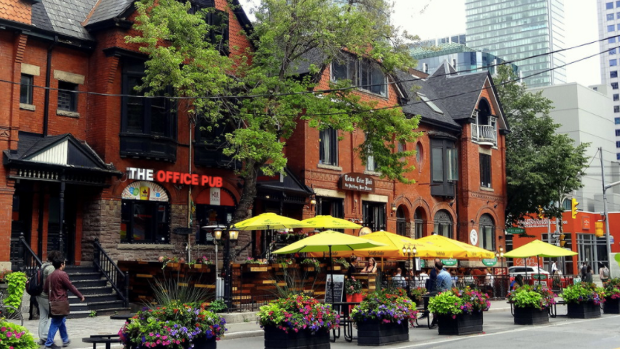 Toronto's Patio Season Could Be Making A Comeback This Year, According To Tory