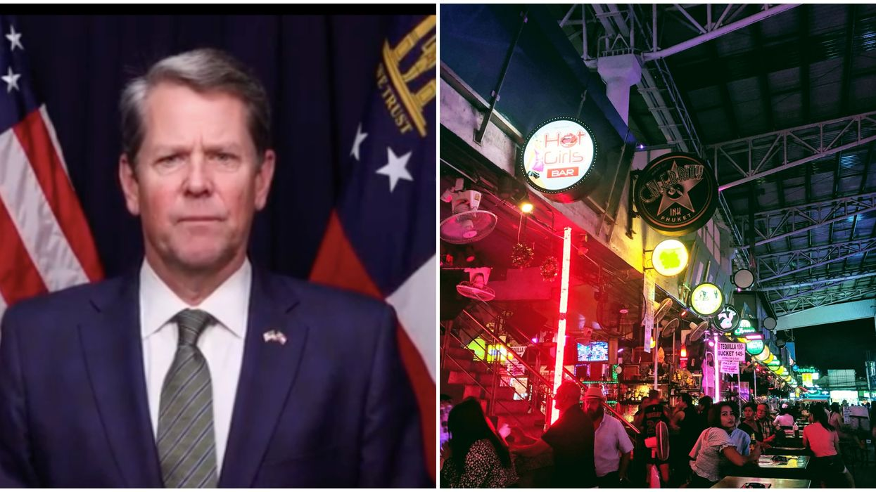 Georgia Governor Brian Kemp Extends Bar Nightclub And Theme Park Closures