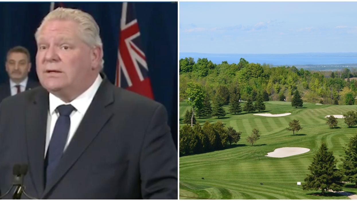 Ontario's Golf Courses Are Set To Reopen & Ford Is About To Spill The Details
