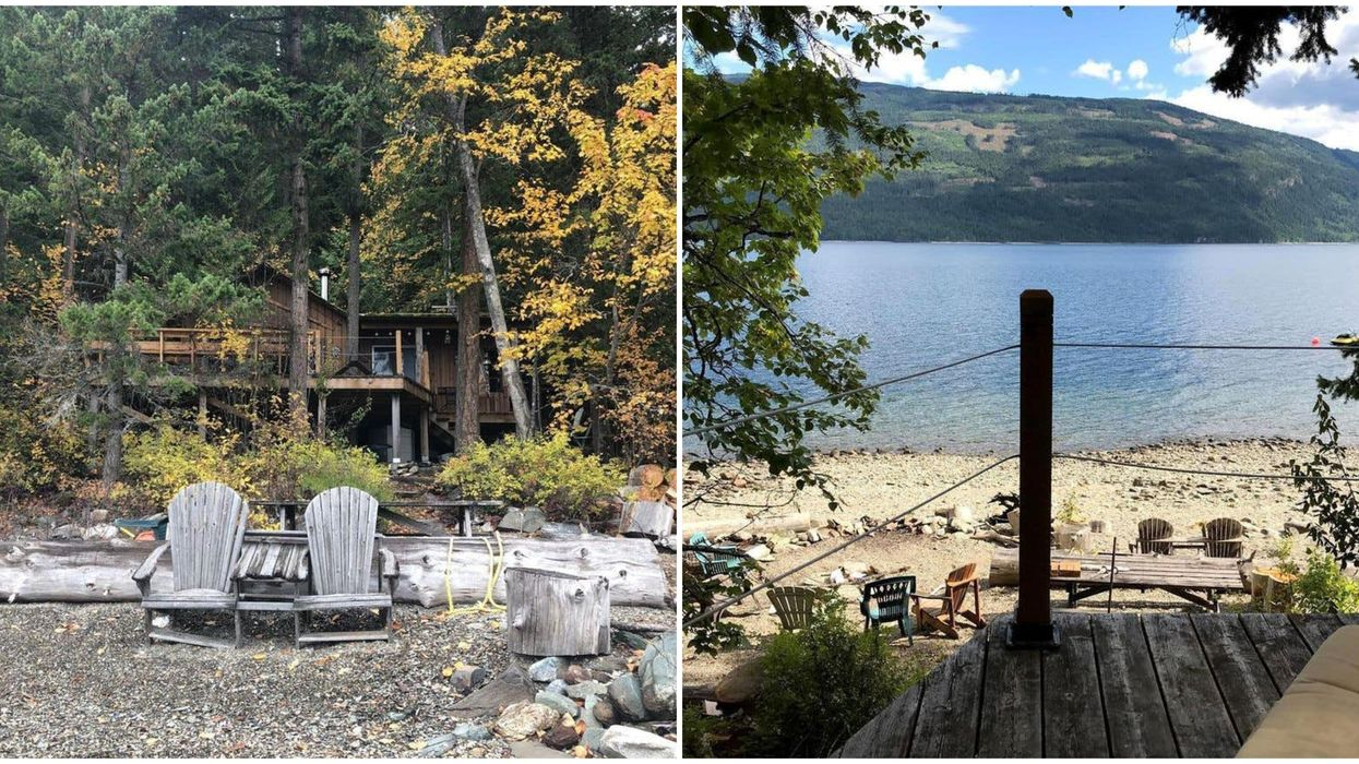 Real Estate In BC: Lake House Under $300K Is So Remote You Need A Boat To Get There