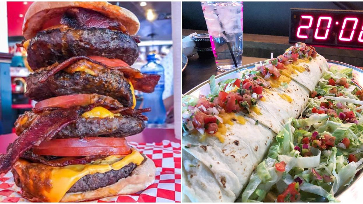 Giant Food Challenges In Las Vegas That Will Make You Reach For Stretchy Pants