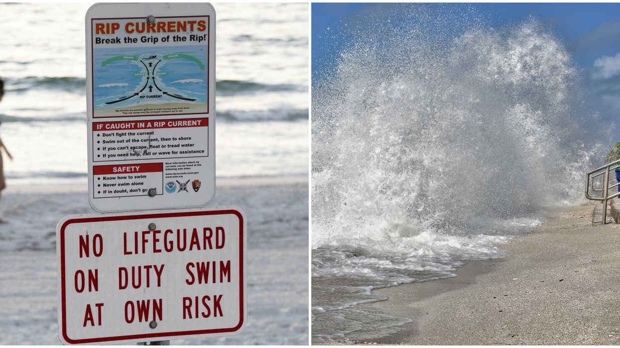 Florida Beaches On East Coast See Potential Life-Threatening Rip Currents This Week