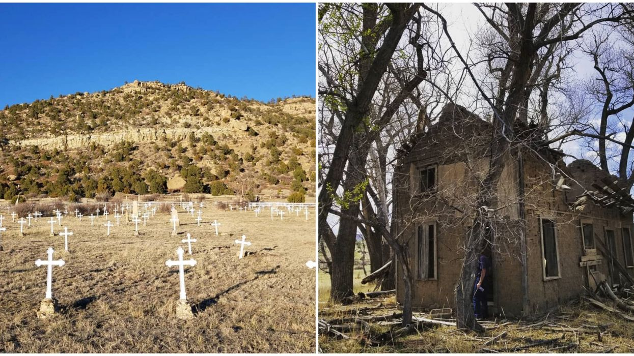A Haunted New Mexico Graveyard Is Calling All Horror Fanatics