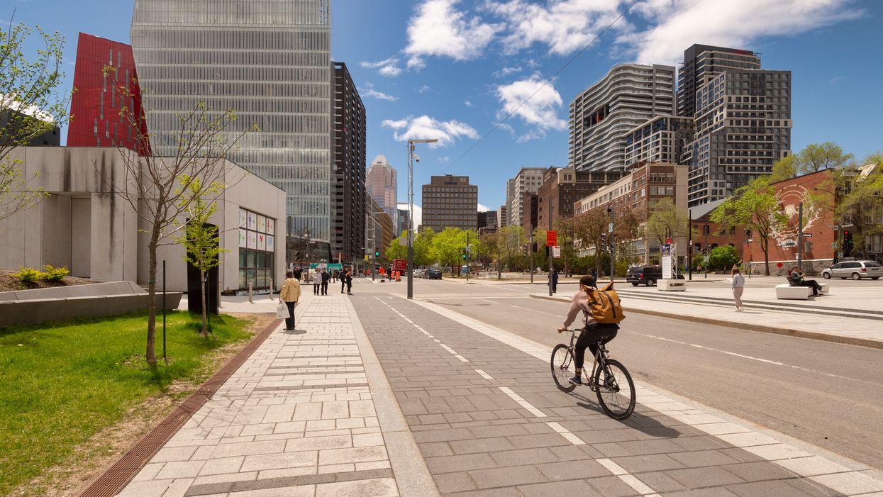 112 km de nouvelles voies pour les vélos vont relier les grands parcs de Montréal cet été