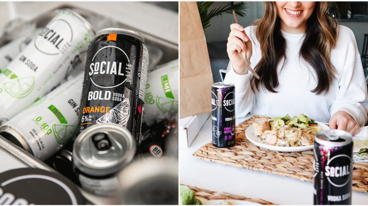 This Local Toronto Brand Created Canada's First Vodka Soda Cans & They've Launched 3 New Flavours