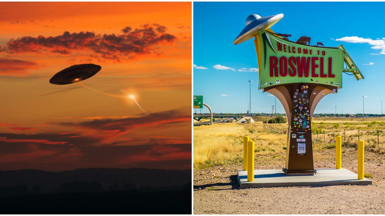 New Mexico Paranormal UFO Sightings Map Is Too Spooky