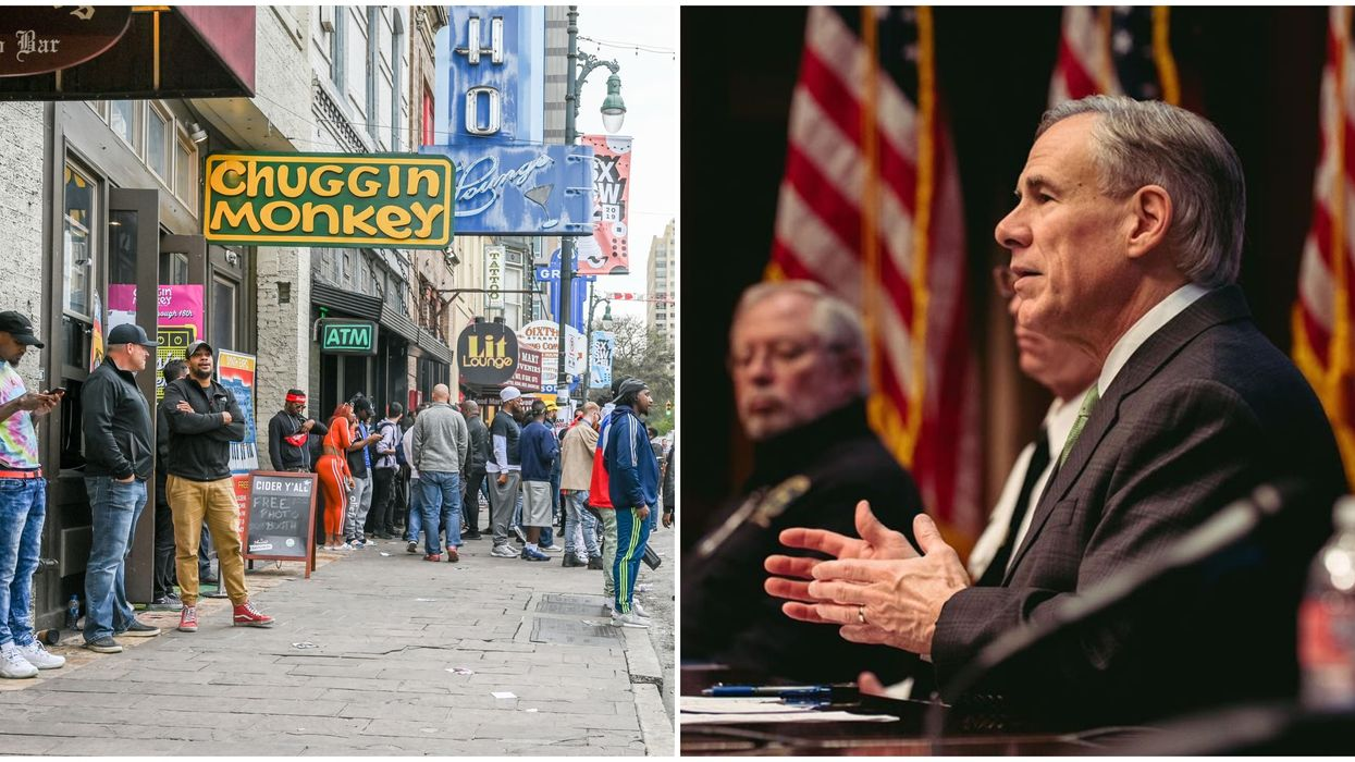 Greg Abbott's Reopening Phase 2 To Allow Bars & Businesses To Reopen