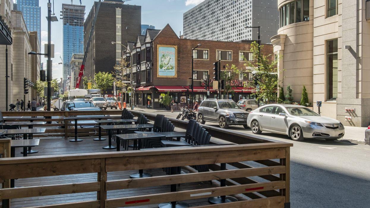 L'ouverture de terrasses plus accessible aux commerçants de Ville-Marie cet été