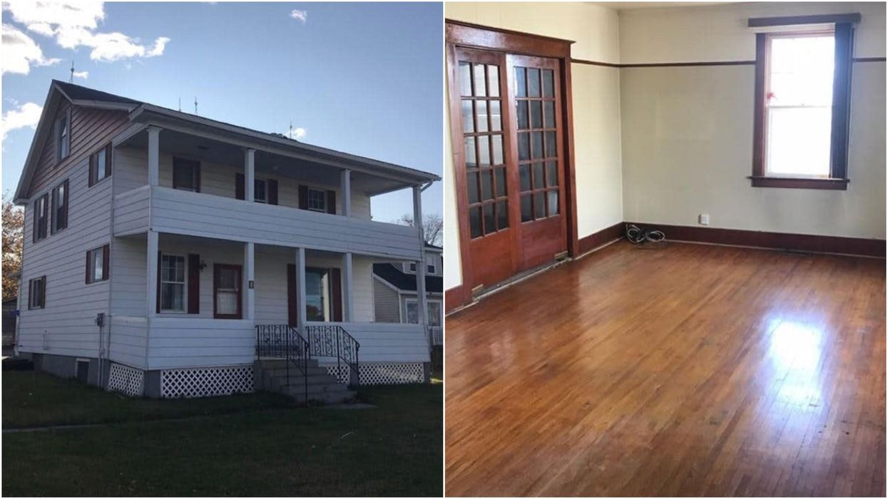 There's A Huge 4-Bedroom House For Sale In New Brunswick & It Only Costs $55K (PHOTOS)
