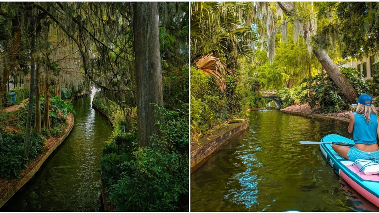 Things To Do In Florida Include Paddling Through Canals Near Orlando
