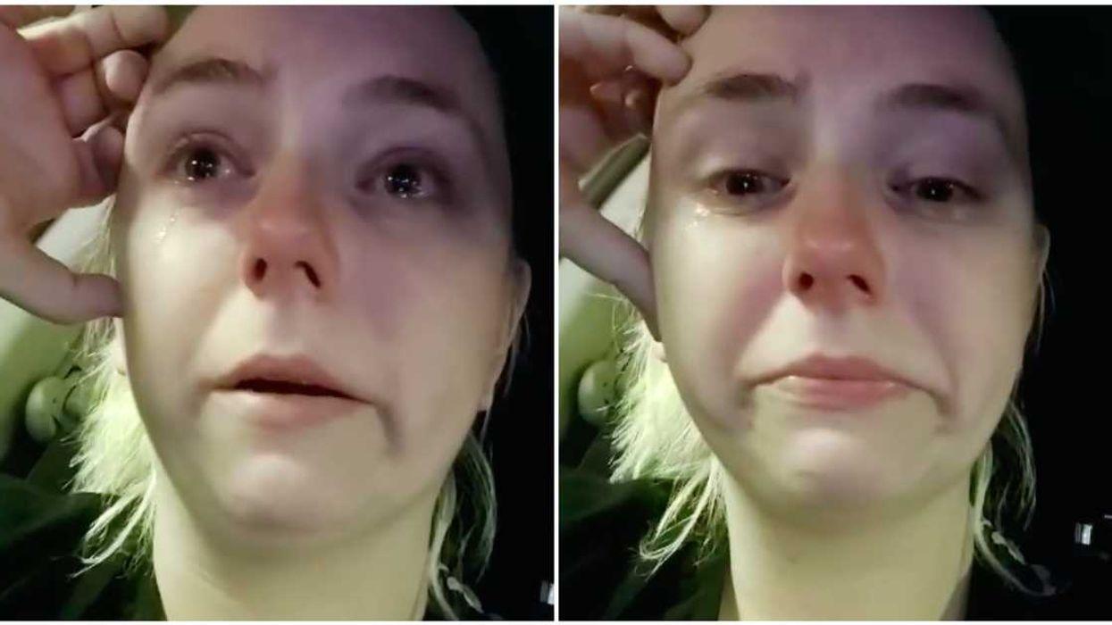 Parcs à Montréal : Une infirmière fond en larmes après avoir vu les foules ce week-end