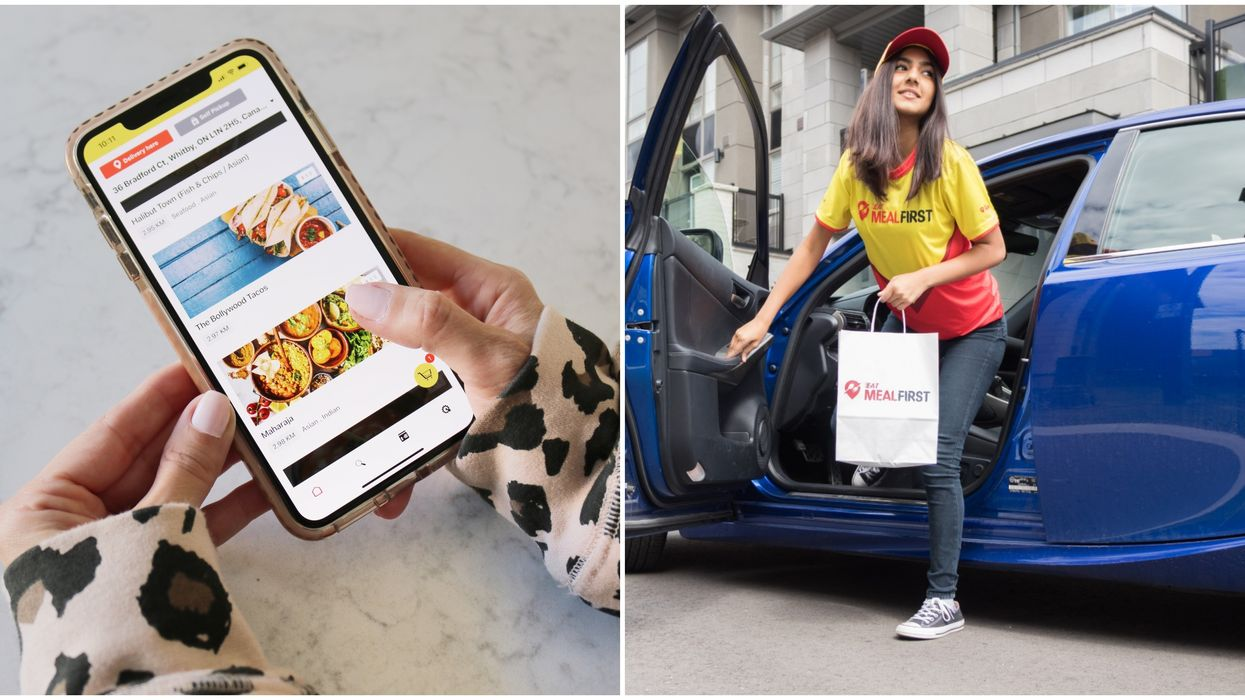 Eat MealFirst Is Toronto's Newest Food Delivery App And Their Fees Are Super Low