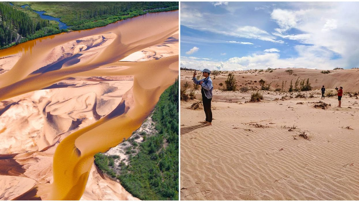 Saskatchewan Has A Giant Sand Dune Park That They're Hiding From The Rest Of Canada